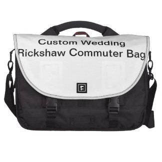 Sac fait sur commande de banlieusard de Rickshaw Sac Ordinateurs Portables