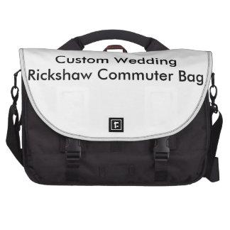 Sac fait sur commande de banlieusard de Rickshaw Sacs Pour Ordinateur Portable