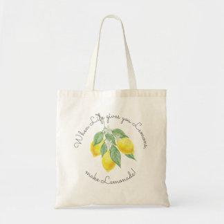 Sac Faveur moderne de mariage de citron de Boho