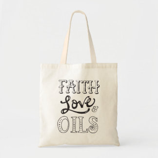 Sac Foi, amour et huiles