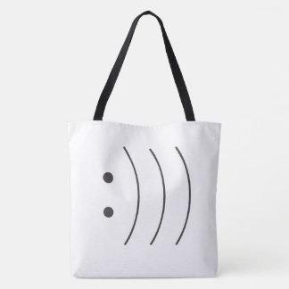 sac fourre-tout à 3 sourires