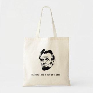 Sac fourre-tout à Abraham Lincoln