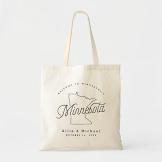 Sac fourre-tout à accueil de mariage du Minnesota