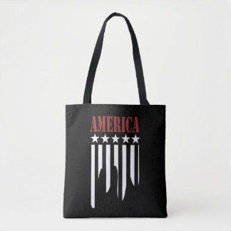Sac fourre-tout à Américaine de bannière étoilée