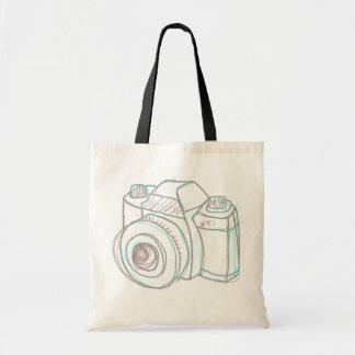 sac fourre-tout à appareil-photo de croquis