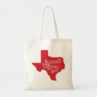 Sac fourre-tout à Austin le Texas de style d'art