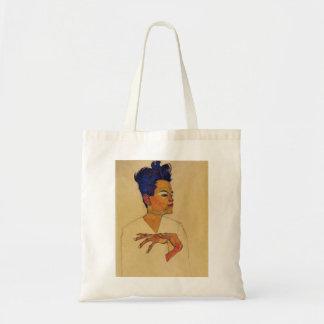 Sac fourre-tout à autoportrait d'Egon Schiele