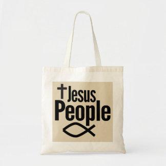 Sac fourre-tout à budget de personnes de Jésus
