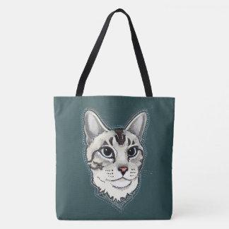Sac fourre-tout à chat siamois de Lynxpoint