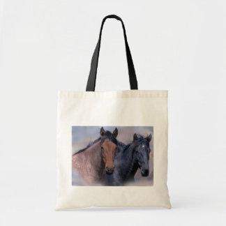 Sac fourre-tout à chevaux sauvages
