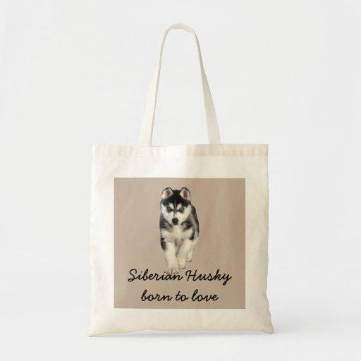 Sac fourre-tout à chien de traîneau sibérien
