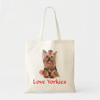 Sac fourre - tout à chiot de Yorkies Yorkshire