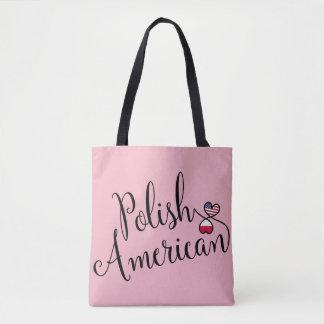 Sac fourre-tout à coeurs enlacé par Américain