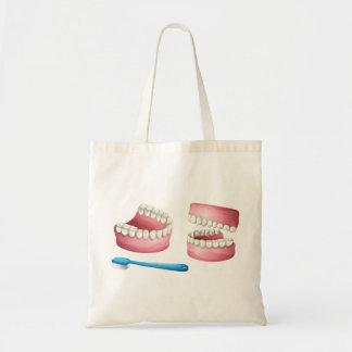 Sac fourre-tout à dentiers