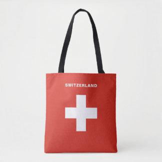 Sac fourre-tout à drapeau de la Suisse