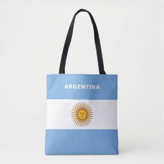 Sac fourre-tout à drapeau de l'Argentine