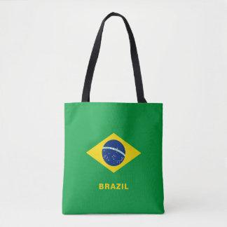 Sac fourre-tout à drapeau du Brésil