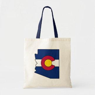 Sac fourre-tout à ensemble de l'Arizona de drapeau
