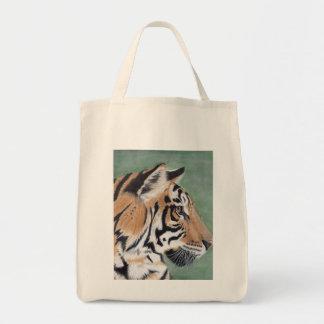 Sac fourre-tout à épicerie de tigre