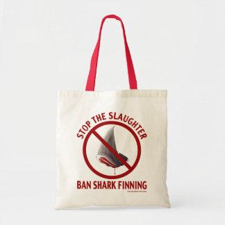 Sac fourre-tout à Finning de requin d'interdiction