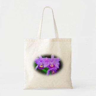 Sac fourre-tout à fleur d'orchidée