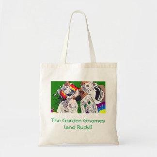 Sac fourre-tout à gnomes de jardin