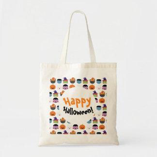 Sac fourre-tout à Halloween, sac de sucrerie pour