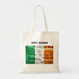 Sac fourre-tout à Irlandais de 100%