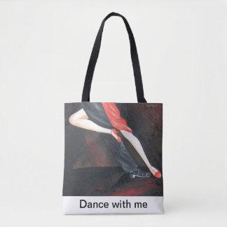 Sac fourre-tout à jambes de tango pour chaque
