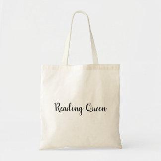 Sac fourre-tout à la Reine de lecture