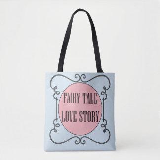 Sac fourre-tout à Love Story de conte de fées