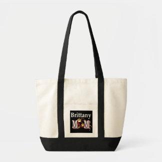 sac fourre-tout à maman d'épagneul de Bretagne