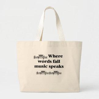 Sac fourre-tout à musicien