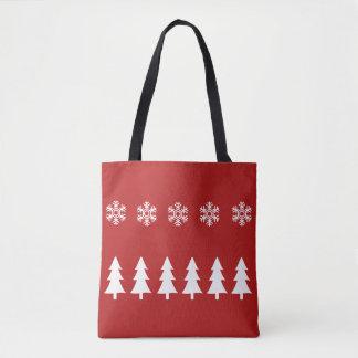 Sac fourre-tout à Noël du pays des merveilles