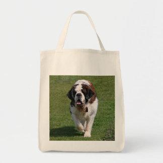 Sac fourre-tout à photo de chien de St Bernard bea