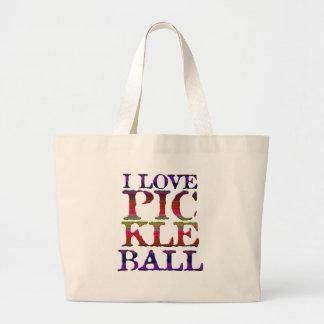 Sac fourre-tout à Pickleball d'amour