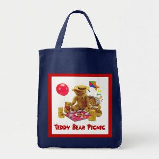 Sac fourre-tout à pique-nique d'ours de nounours