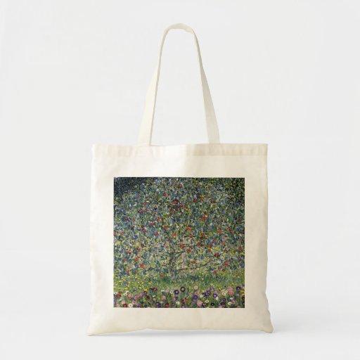 Sac fourre-tout à pommier de Gustav Klimt