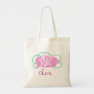 Sac fourre-tout à quartz rose