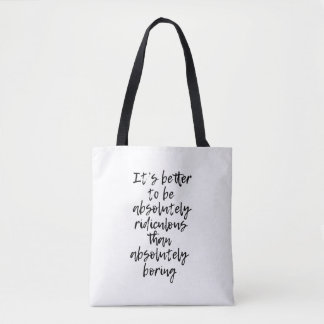 Sac fourre-tout absolument ridicule