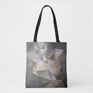 Sac fourre-tout abstrait géométrique à motif de