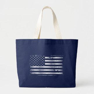 Sac fourre-tout affligé au drapeau américain II