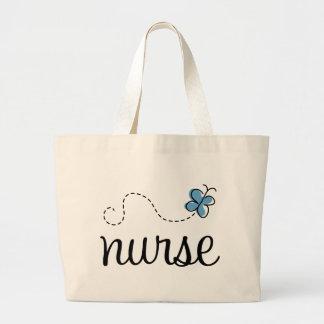 Sac fourre-tout assez bleu à infirmière