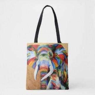 Sac fourre-tout avec la conception d'éléphant