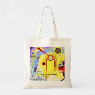 Sac fourre-tout bleu rouge jaune à Kandinsky