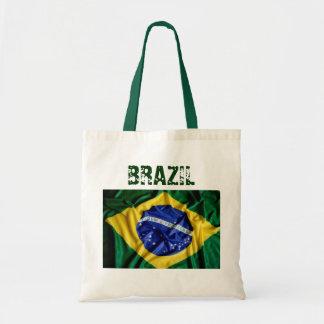 Sac fourre-tout brésilien à drapeau