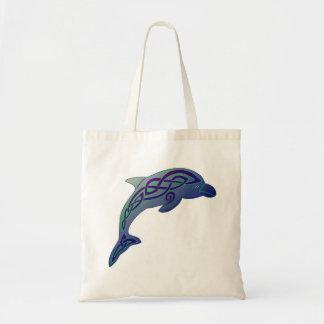 Sac fourre-tout celtique à dauphin