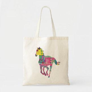 Sac fourre-tout coloré à cheval