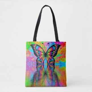 Sac fourre-tout : Conception de papillon