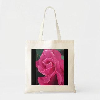 Sac fourre-tout délicieux à rose de rose